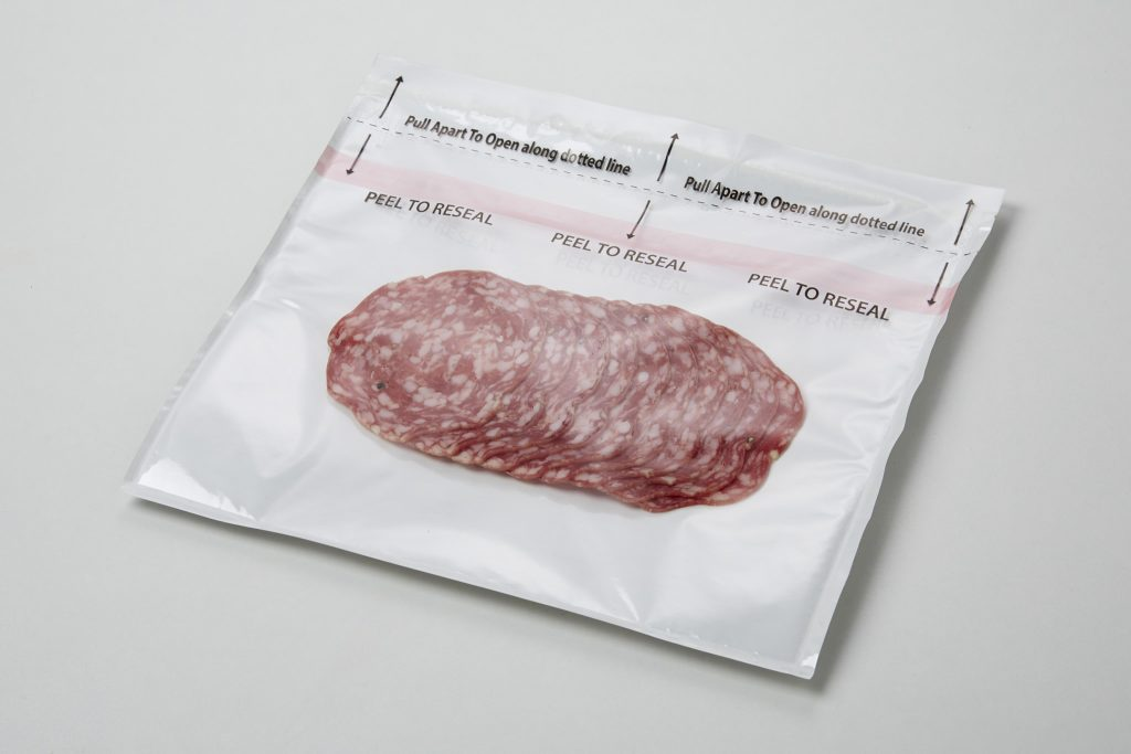 Arcafood plastic pouch for food