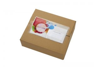 Arcalist document holder adhesive envelope