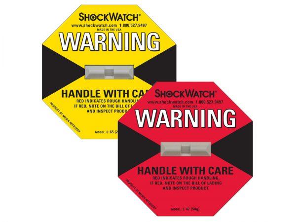 shock watch/Impact indicators/labels/stickers/